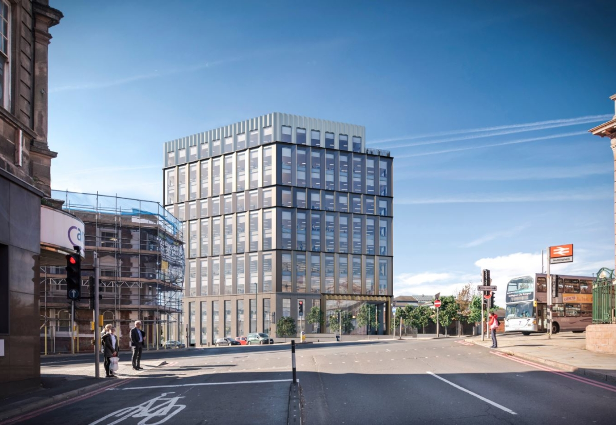 HMRC building will form the first phase of a near 500,000 sq ft office project