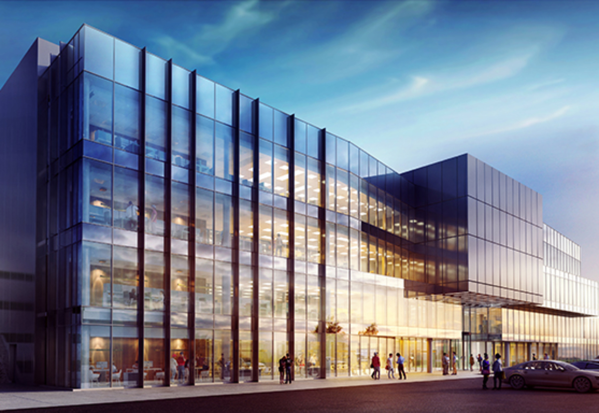 Planned new National Maritime Systems Centre in Portsdown Technology Park