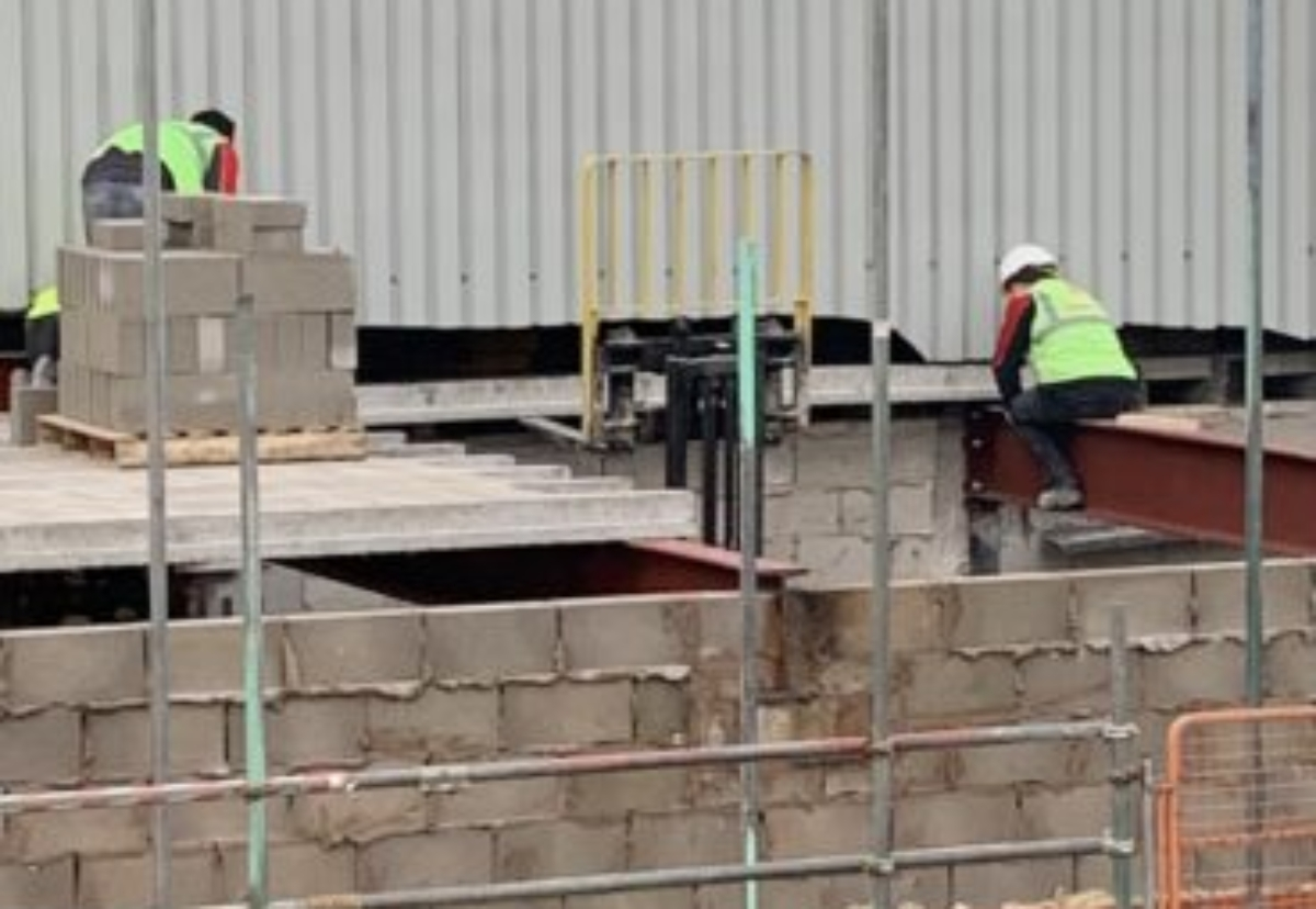 Safety breaches were caught on camera by the HSE