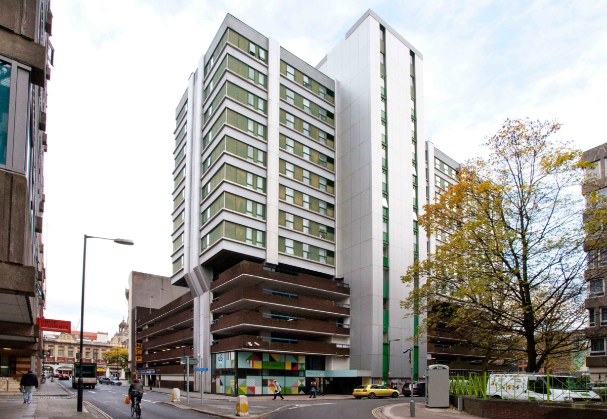 Waverley House, one of six Unite buildings where ACM cladding has been replaced