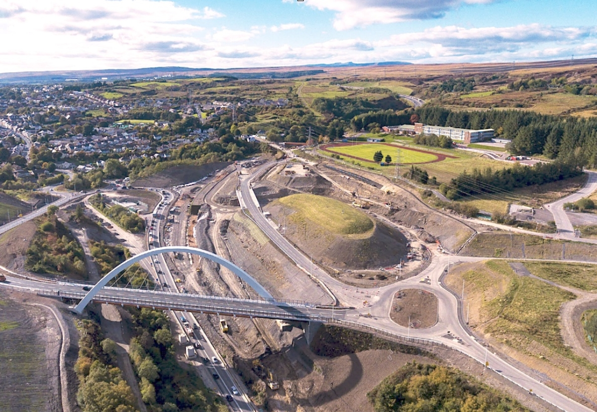 Costain contract involves seven bridges and 12.5km of retaining walls