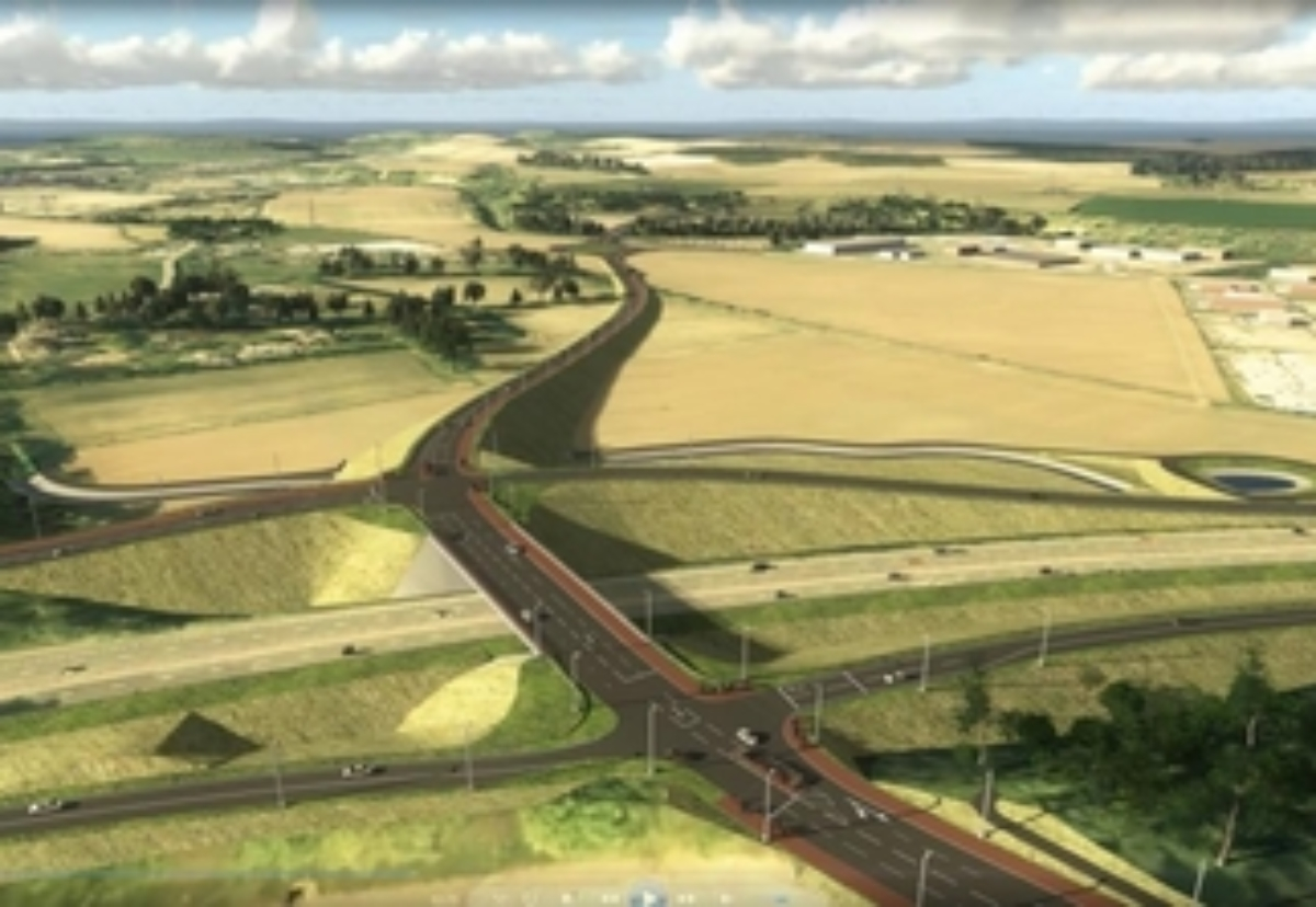 Planned A9/A85 road junction in Perth & Kinross