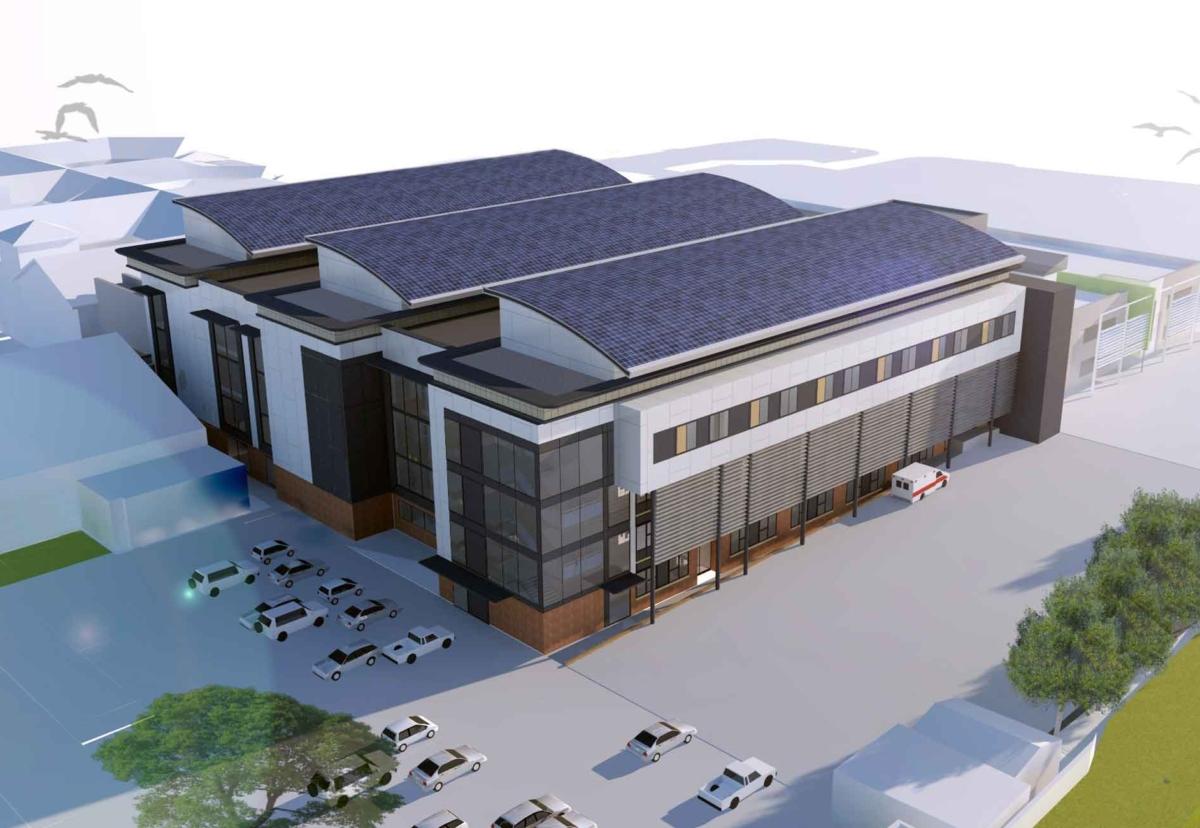 West Midlands architect Design Buro drew up plans for the Ambulatory Care and Diagnostics Centre