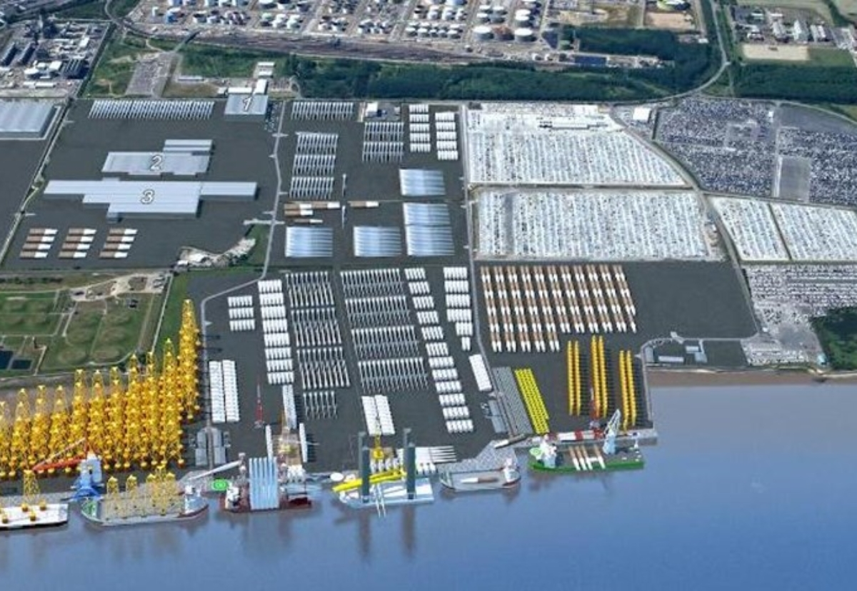 Construction to start this year on two wind turbine ports