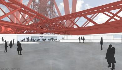 Viewing platform plan for Forth bridge