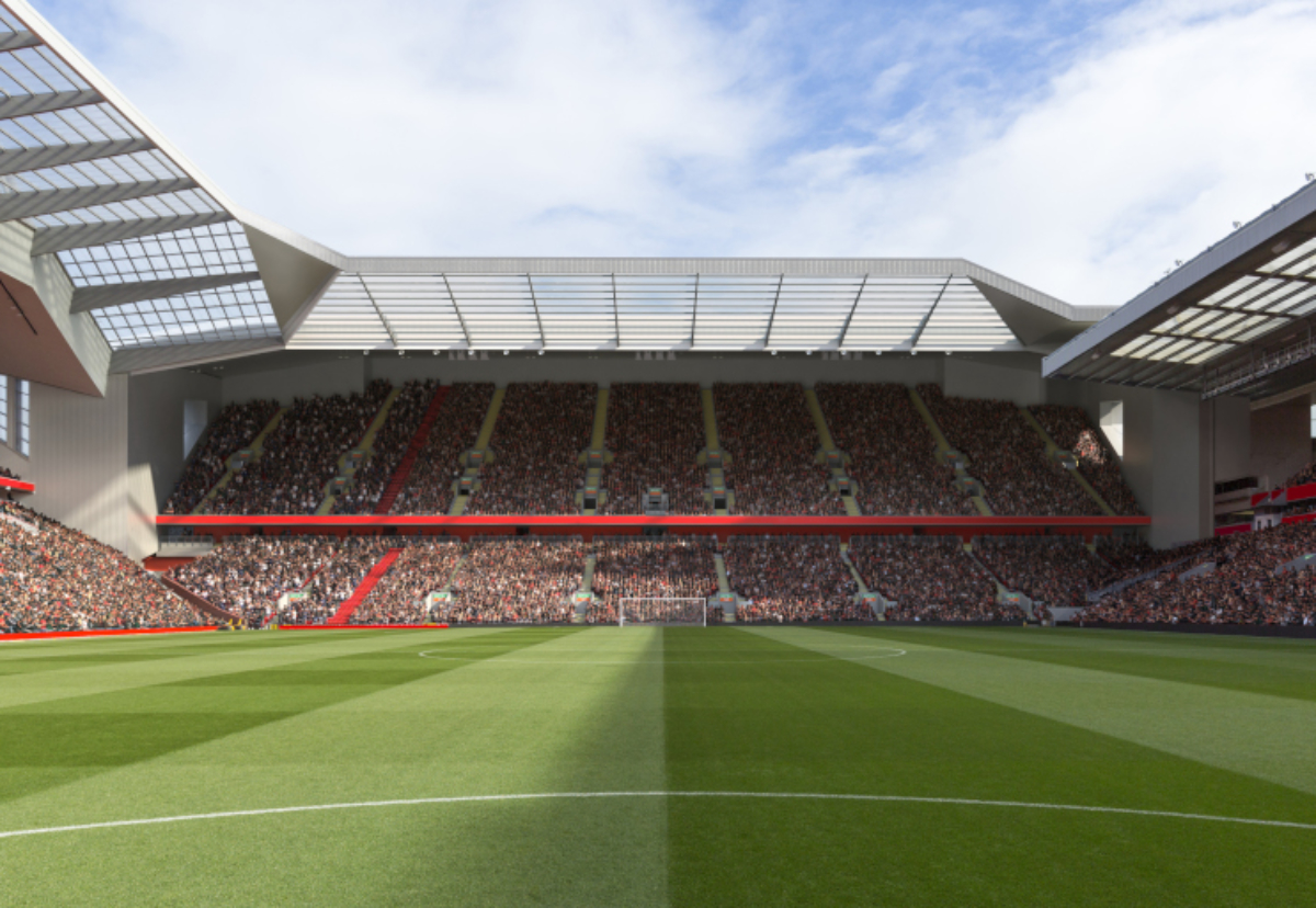 How the proposed Anfield Road Stand could look