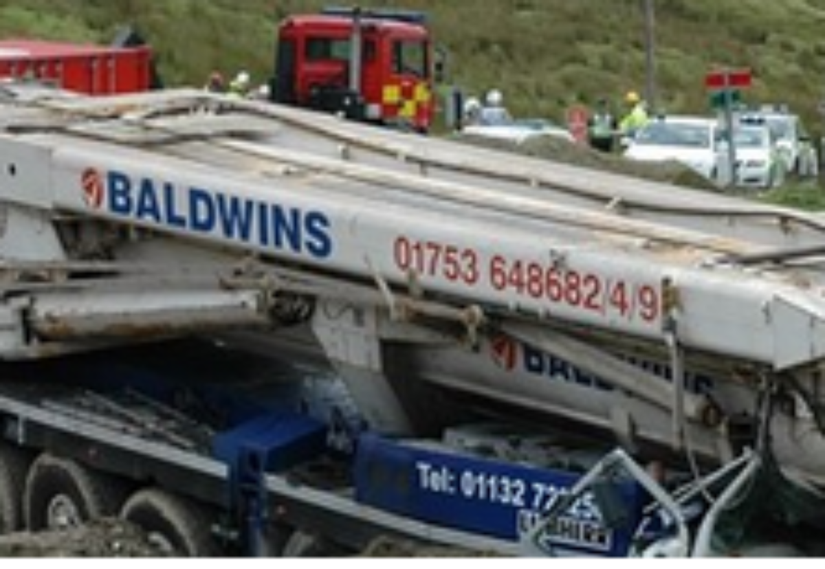 Baldwins was found guilty of corporate manslaughter last year after a driver died in a crash