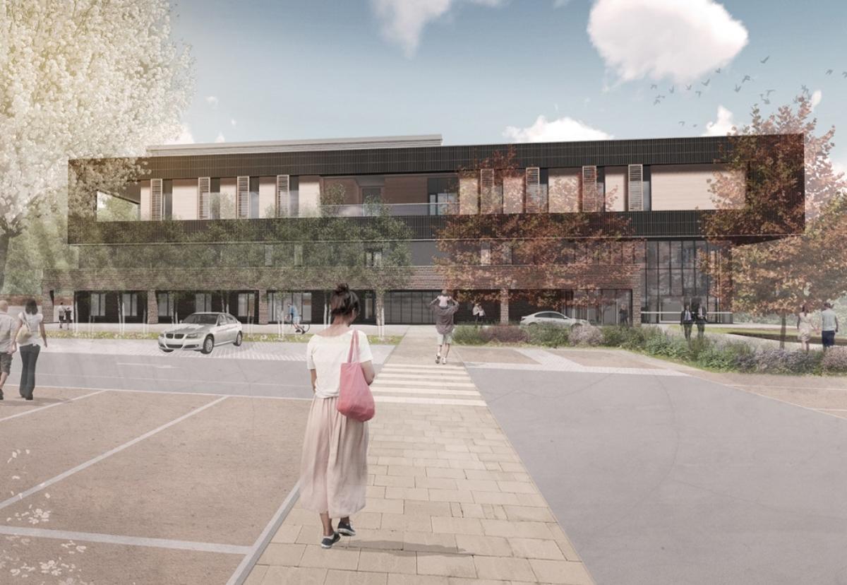 Planned new Heatherwood Hospital