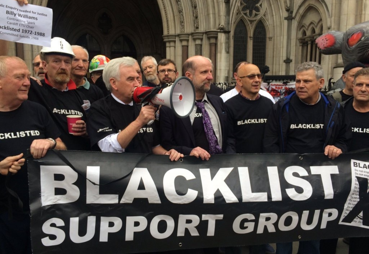 Blacklisted workers have fought tirelessly to expose wrongdoing