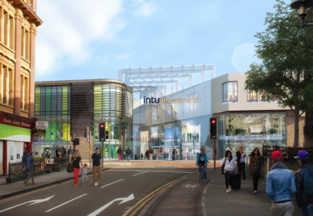 McAlpine's revamp of intu Broadmarsh has stalled