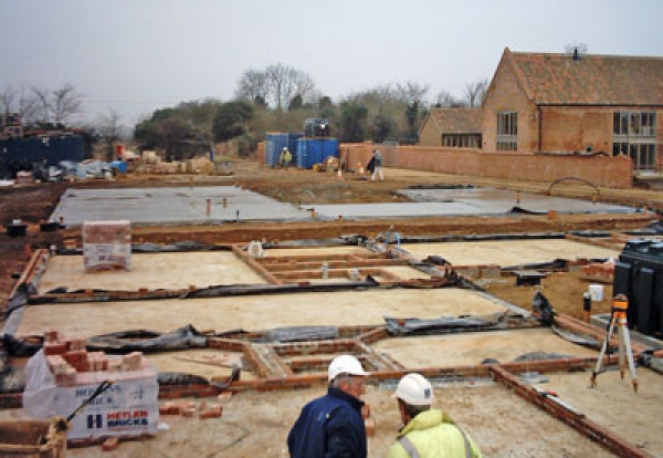 housing theme starts house building