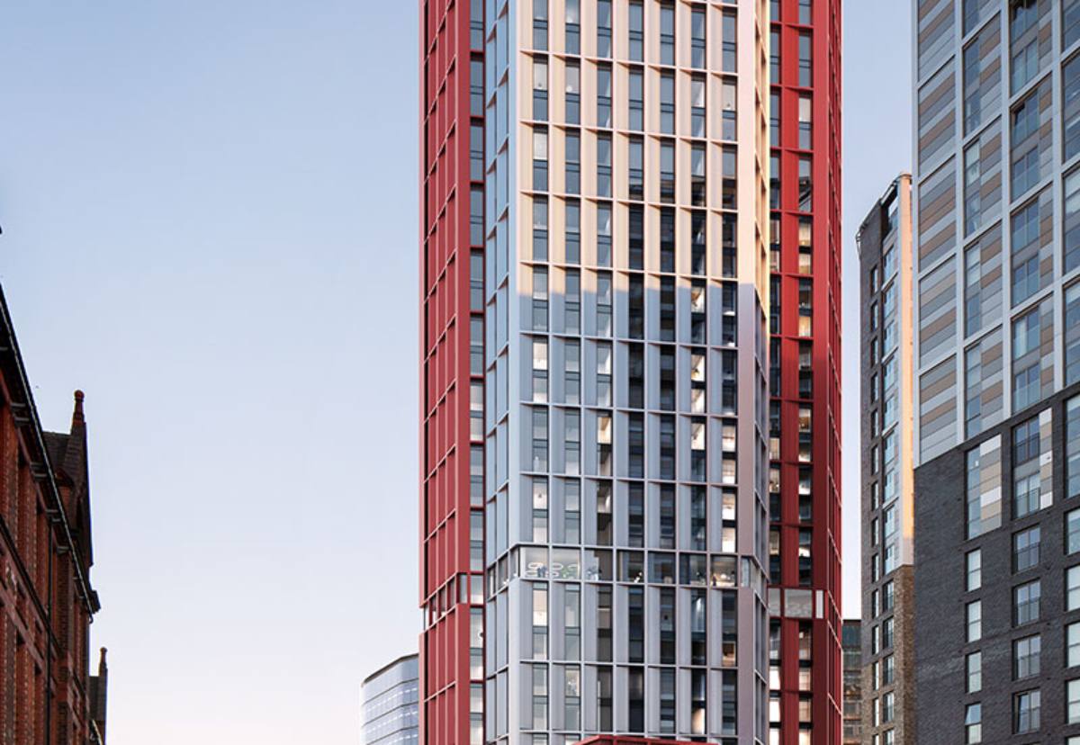 Planned co-living flats and hotel at Gorton Street