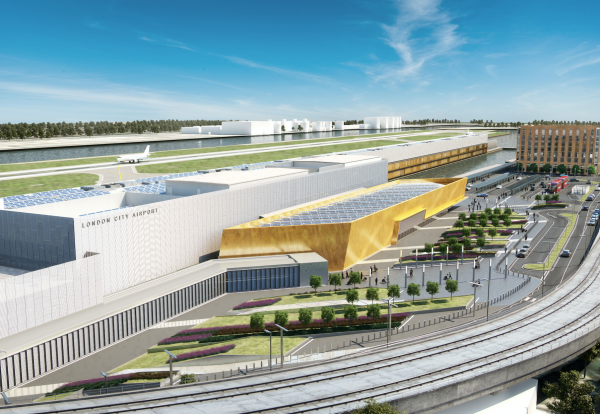 Bechtel to lead £370m London City Airport expansion