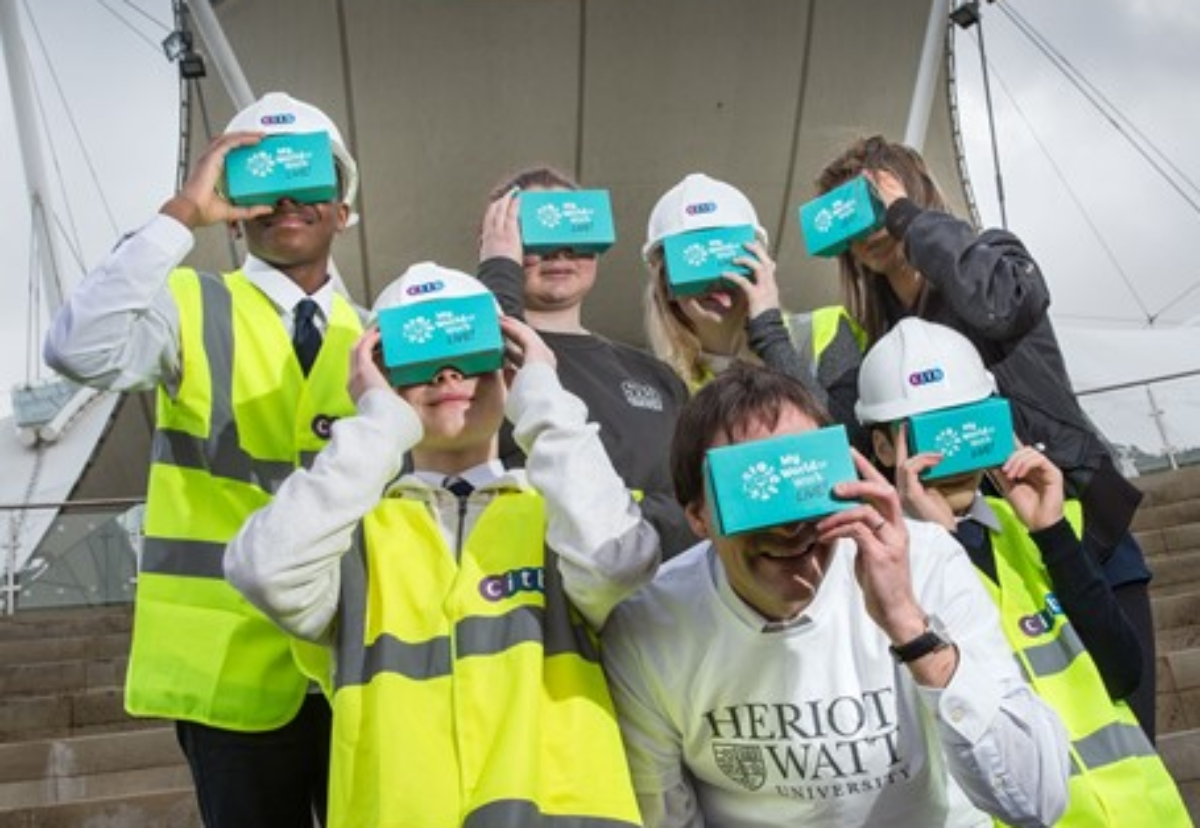 Pupils from Edinburgh's Leith Academy were joined by apprentices from Sharkey Group and First Call Trade Services to launch the app on the Google Play Store this week