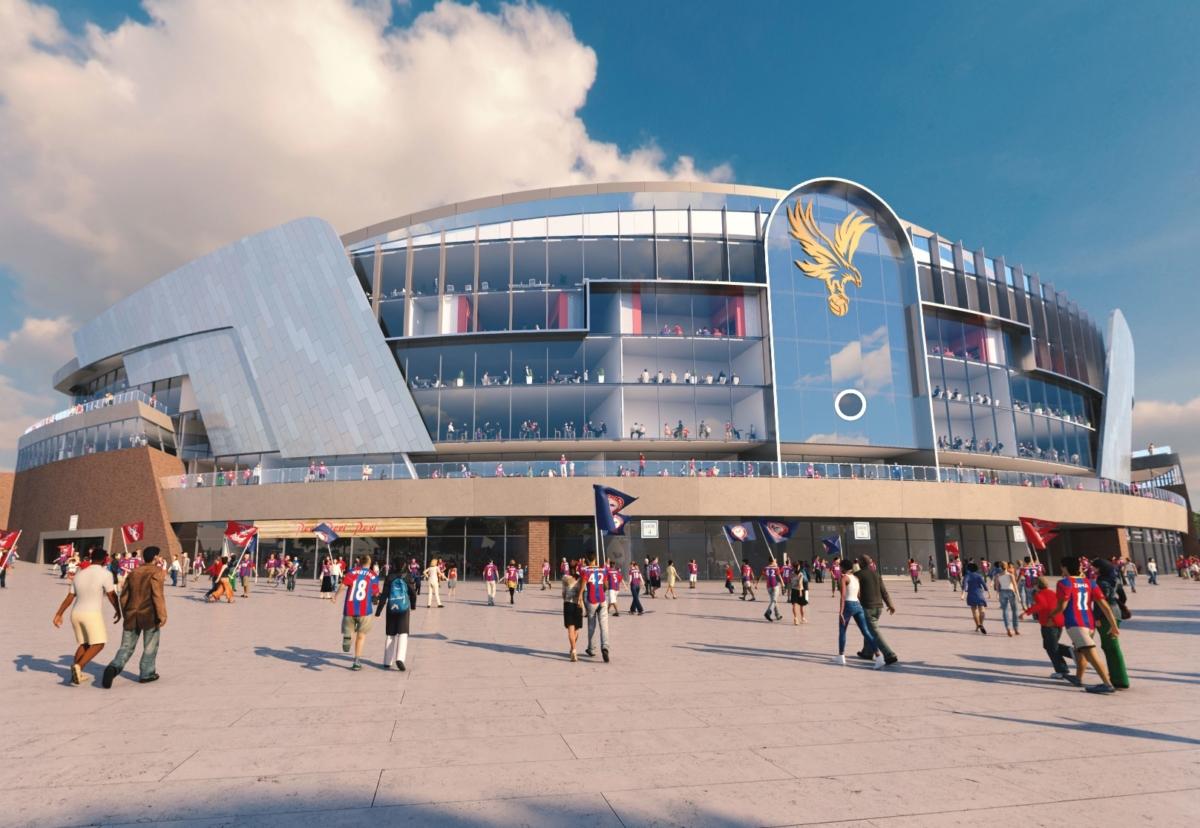 Selhurst Park redevelopment plan to increase the stadium's capacity to over 34,000