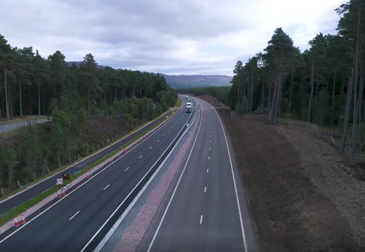Green light for four sections of £3bn A9 upgrade
