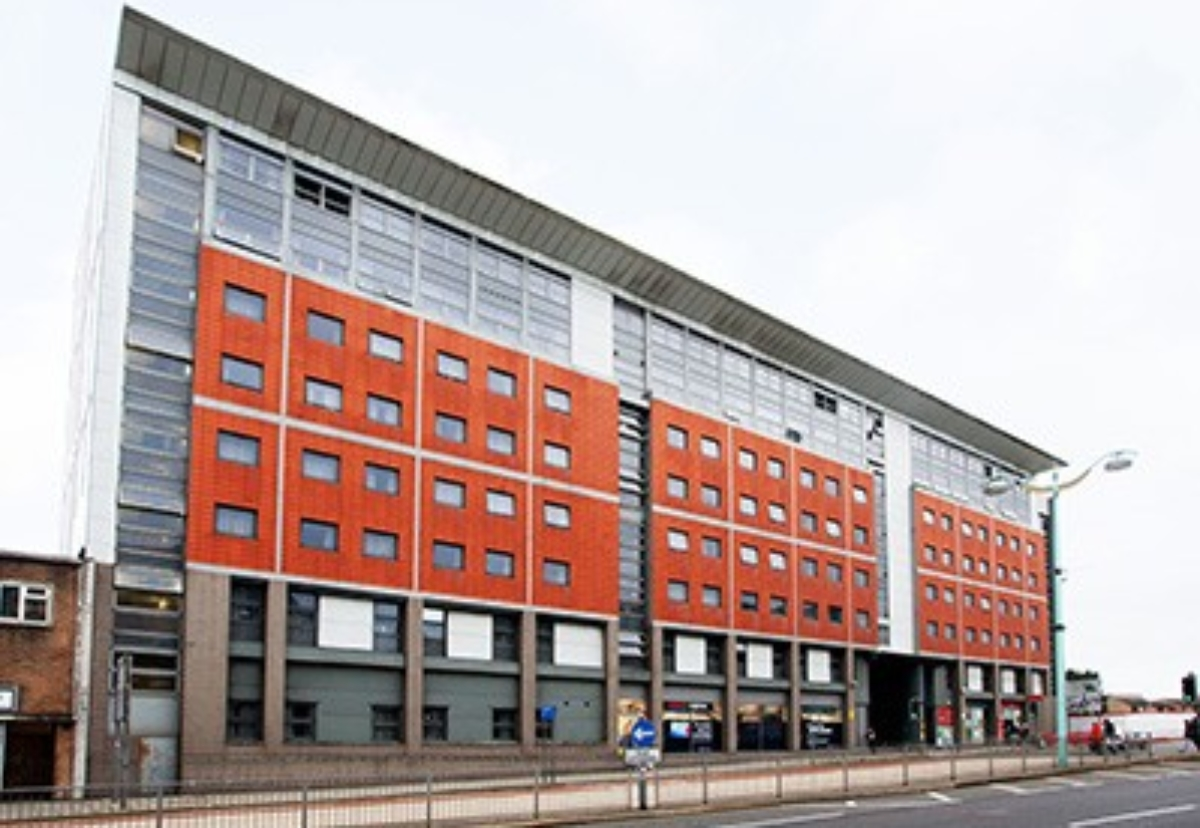 Discovery Heights in the centre of Plymouth city centre is one of the buildings being sold