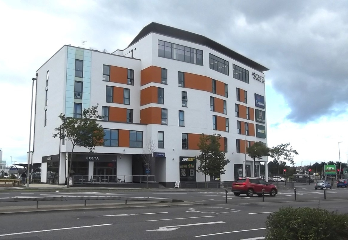 Hotel in Poole is now complete and operates as a travelodge