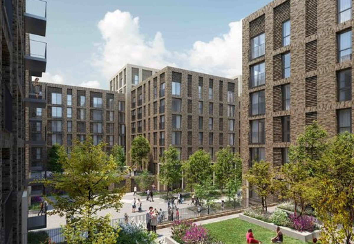 Darling Architects designed the Ordsall Lanes residential scheme in Salford