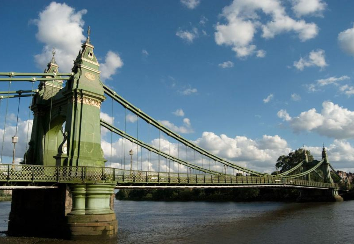 Hammersmith bridge has been closed for 18 months with Thames boats also no longer allowed to sail under it because of fears of bridge failure