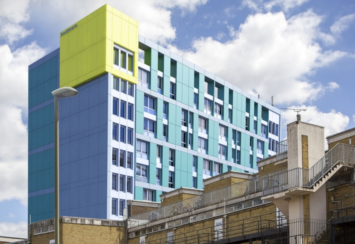 Hockmore tower in Oxford will be reclad following fresh Government guidance relating to high pressure laminate facades