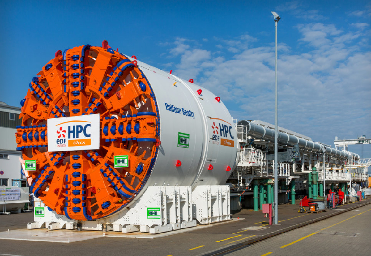 Balfour Beatty is working on a major tunnelling contract at Hinkley