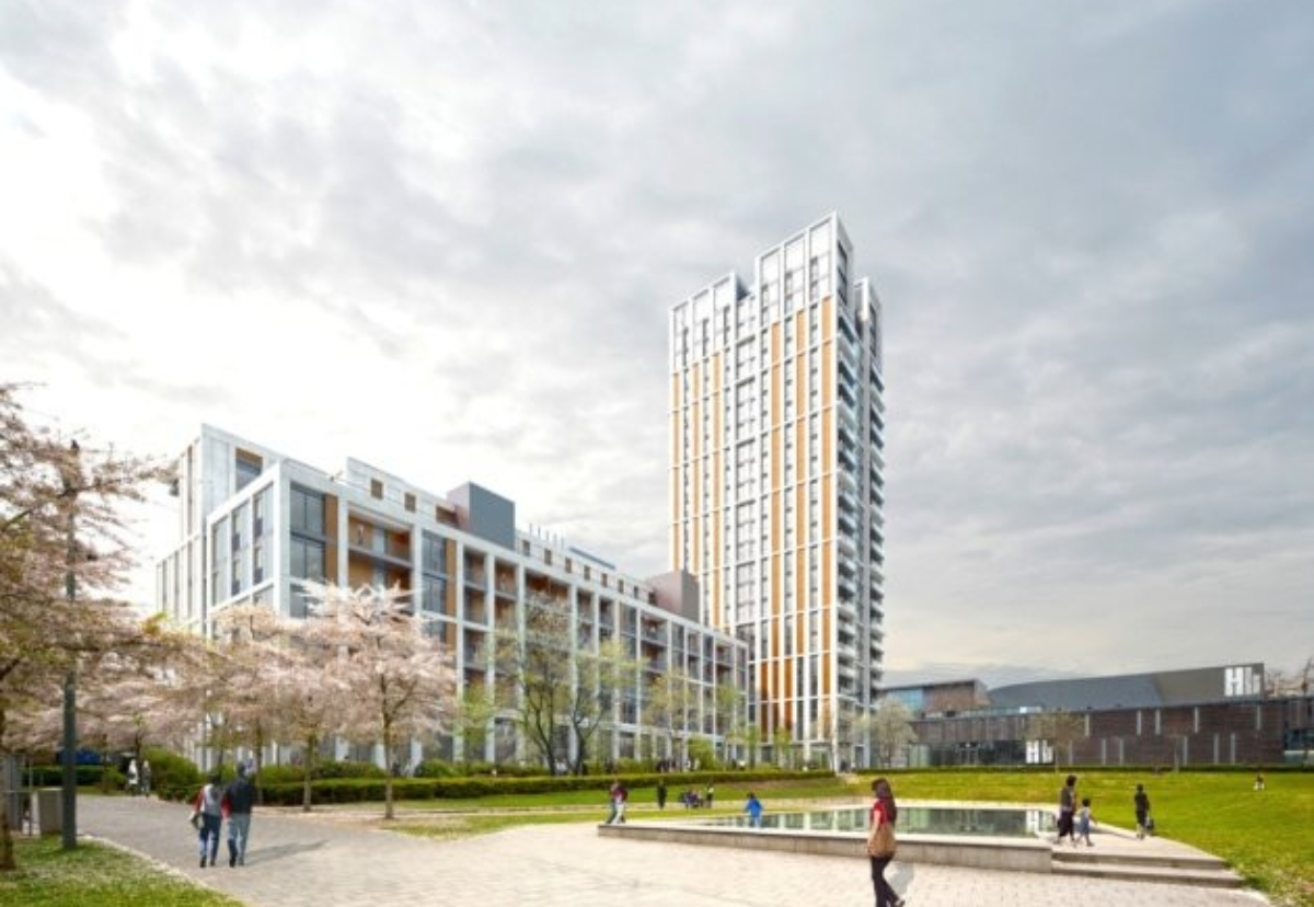 Plans for housing at Swiss Cottage in London