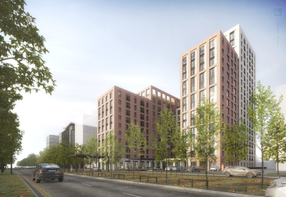 The £47.3m Aubrey Place project is being supported by funders Invesco and will be completed in April 2020.