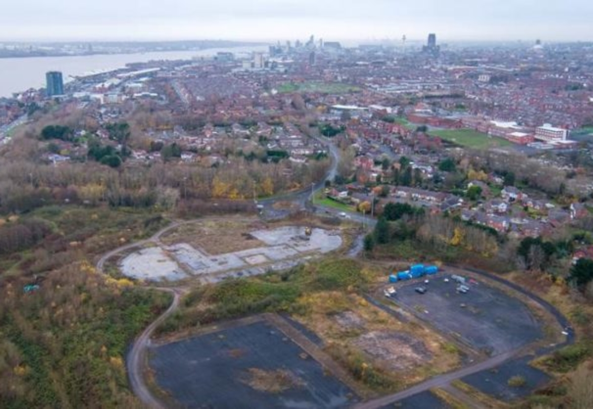 Liverpool's former International Garden Festival site is earmarked for almost 1,500 new homes
