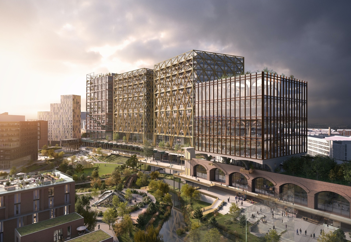 Mayfield scheme will be built on a 14-acre site near Manchester Piccadilly Station