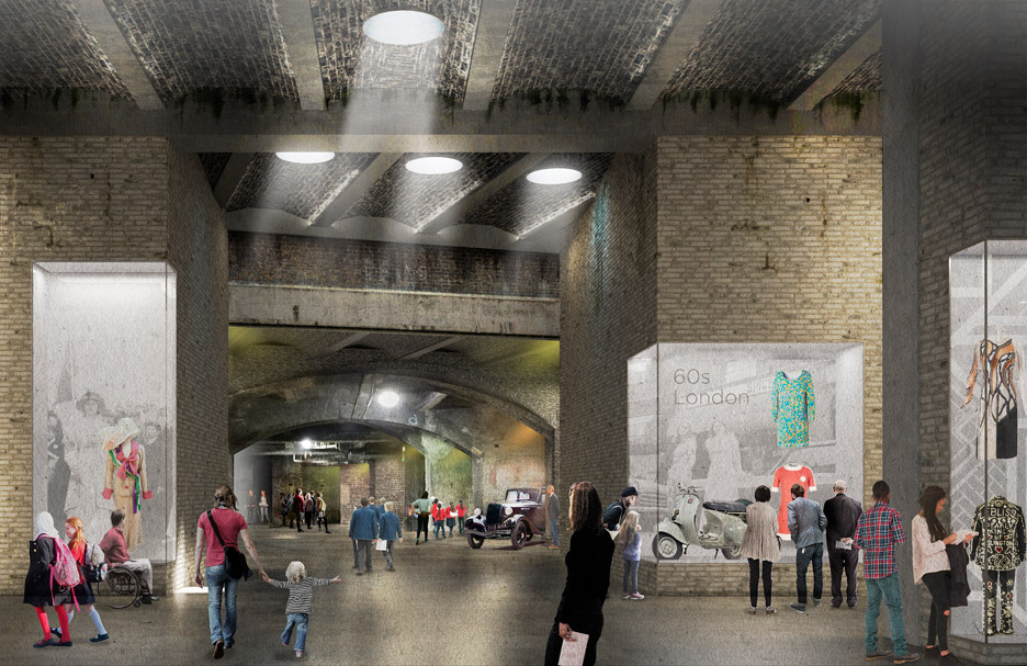 museum of london stanton williams asif khan winners competition west smithfield dome underground dezeen 936 1