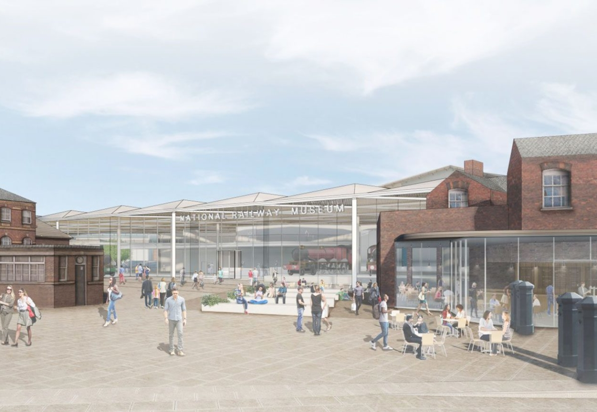 Architect Wilkinson Eyre has designed plans to expand York's National Rail Museum