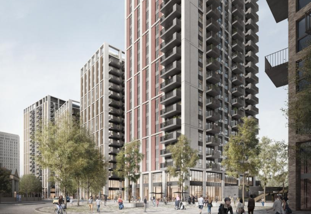 Grainger will now build three of the four Merrick Place towers in Southall