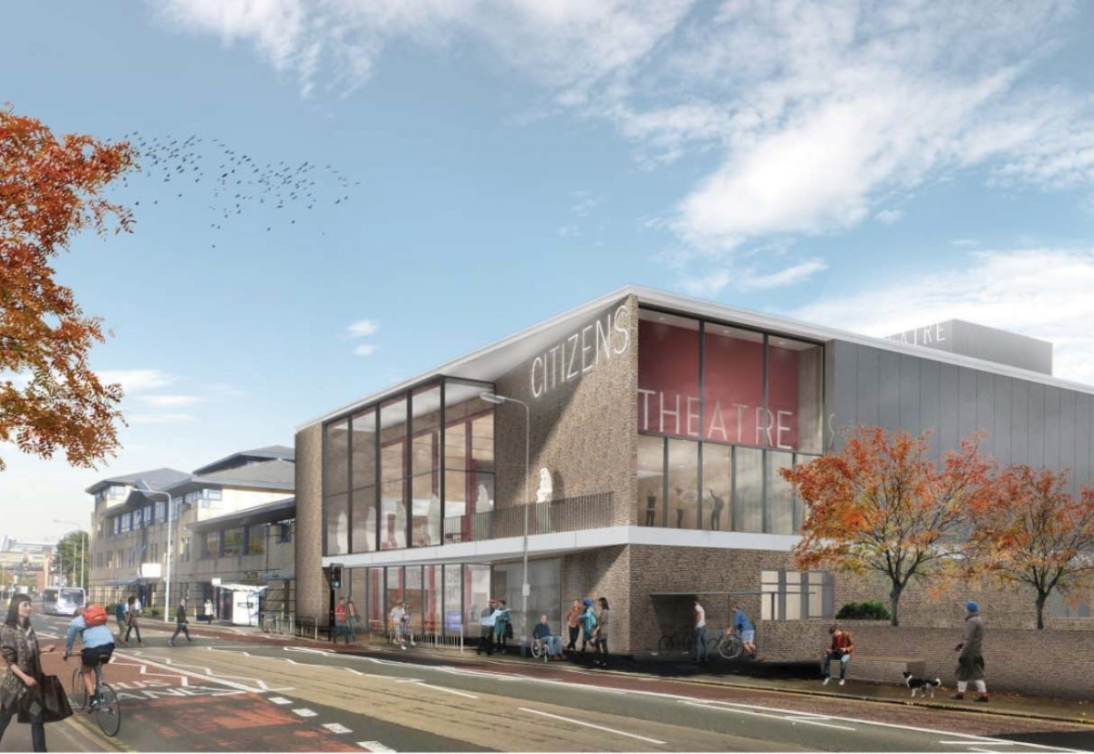 Bennetts Associates designed plans for the renovation and expansion of Glasgow's Citizens Theatre