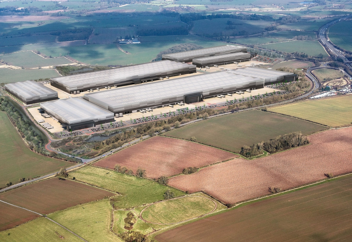 Winvic recently secured the 2.9m sq ft global parts logistics centre for Jaguar Land Rover