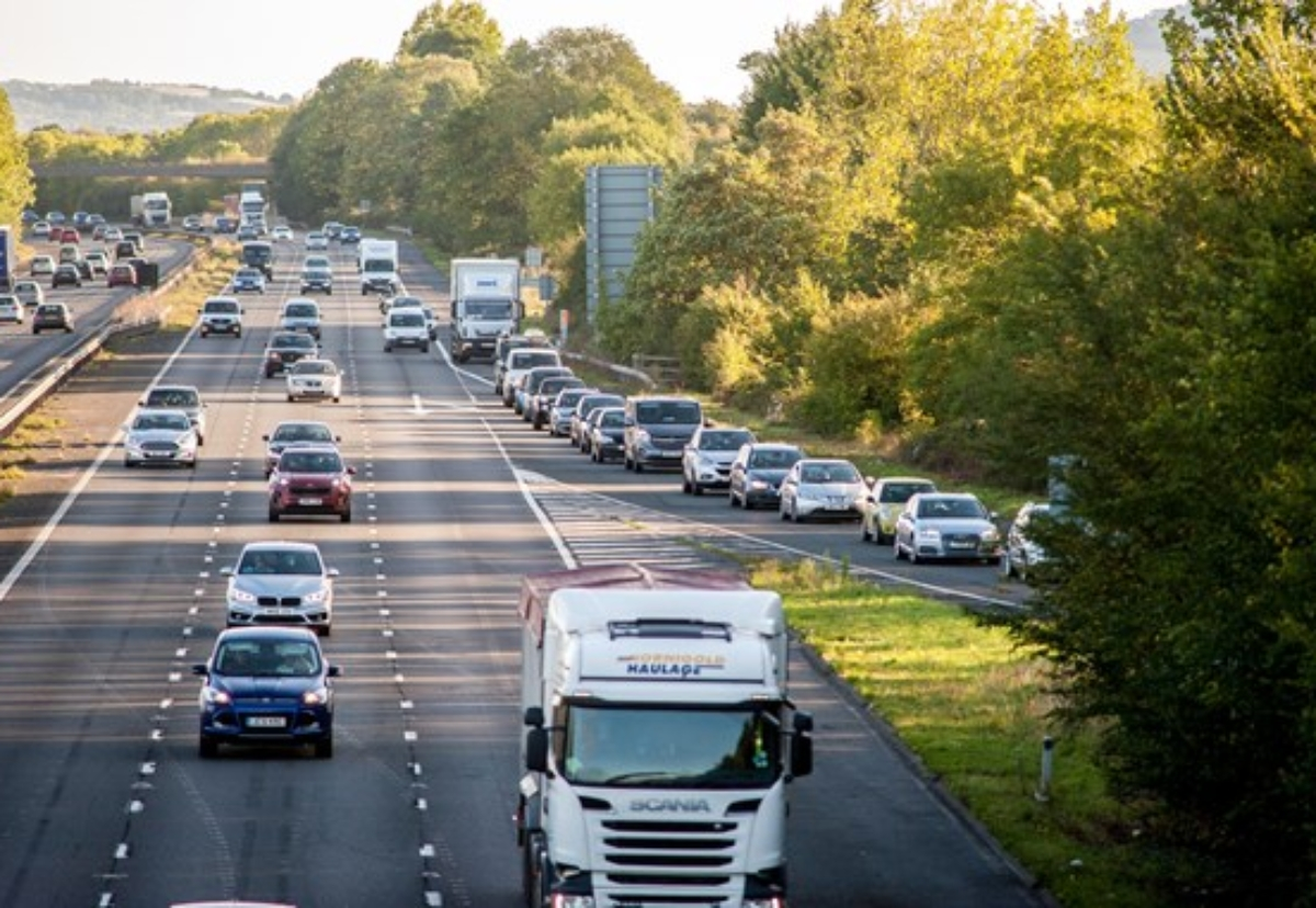 Currently M5 Junction 10, near Uckington to the west of Cheltenham, only has slip roads to and from the north