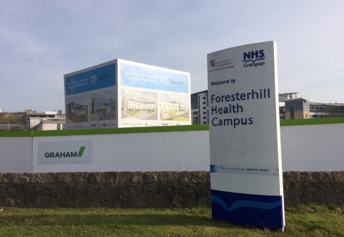 NHS Grampian is looking at possible design changes to save costs