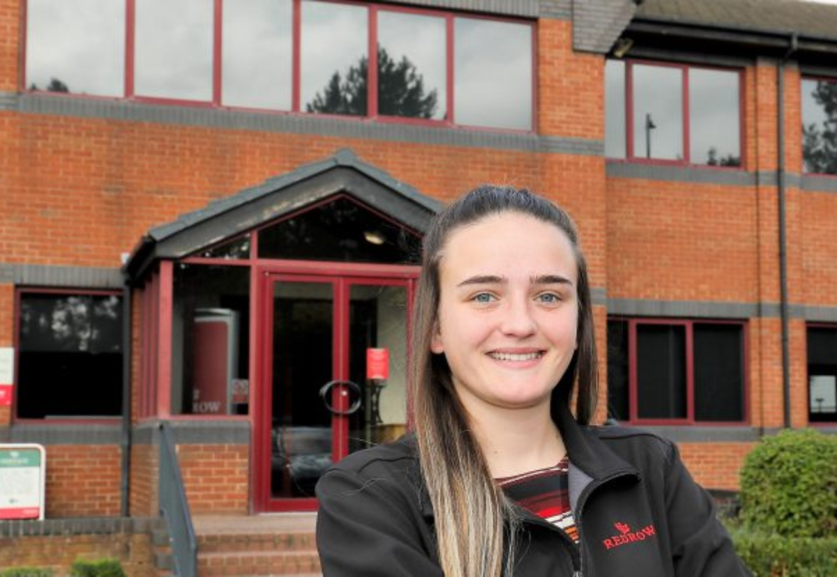 The successful applicants are now joining Redrow ahead of their course starting
