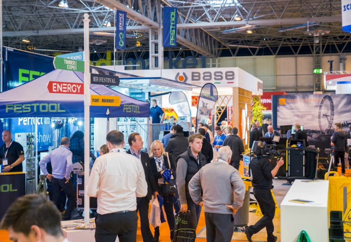 Up to 30,000 visitors expected this week at construction industry show