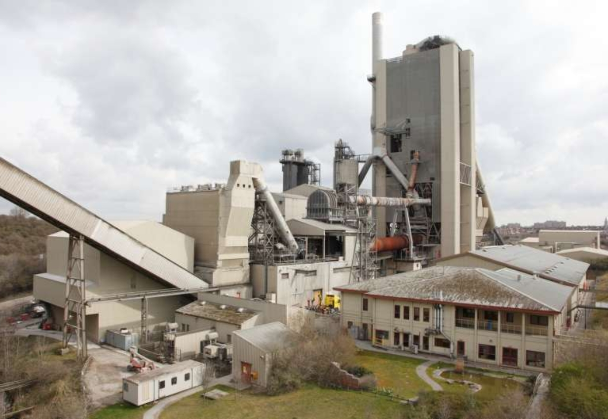 CEMEX has invested £18m in a new system to replace fossil fuels at Rugby cement plant