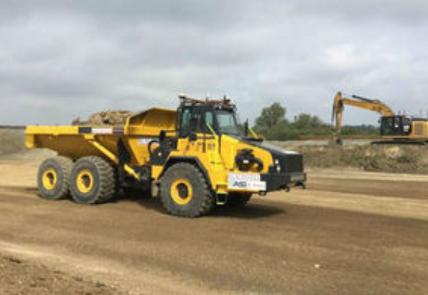 Used Dump Trucks >> Driverless Dump Trucks Used For First Time On A14 Site