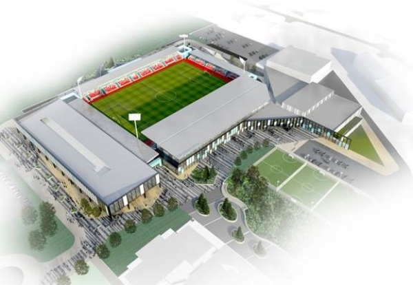 Plans for the stadium are currently facing a financial review
